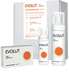 Evolut Cleansing And Defensing Kit For Face And Body With Silver Nanoparticles - Evolut набор для очищения и защиты кожи лица и тела с наночастицами серебра